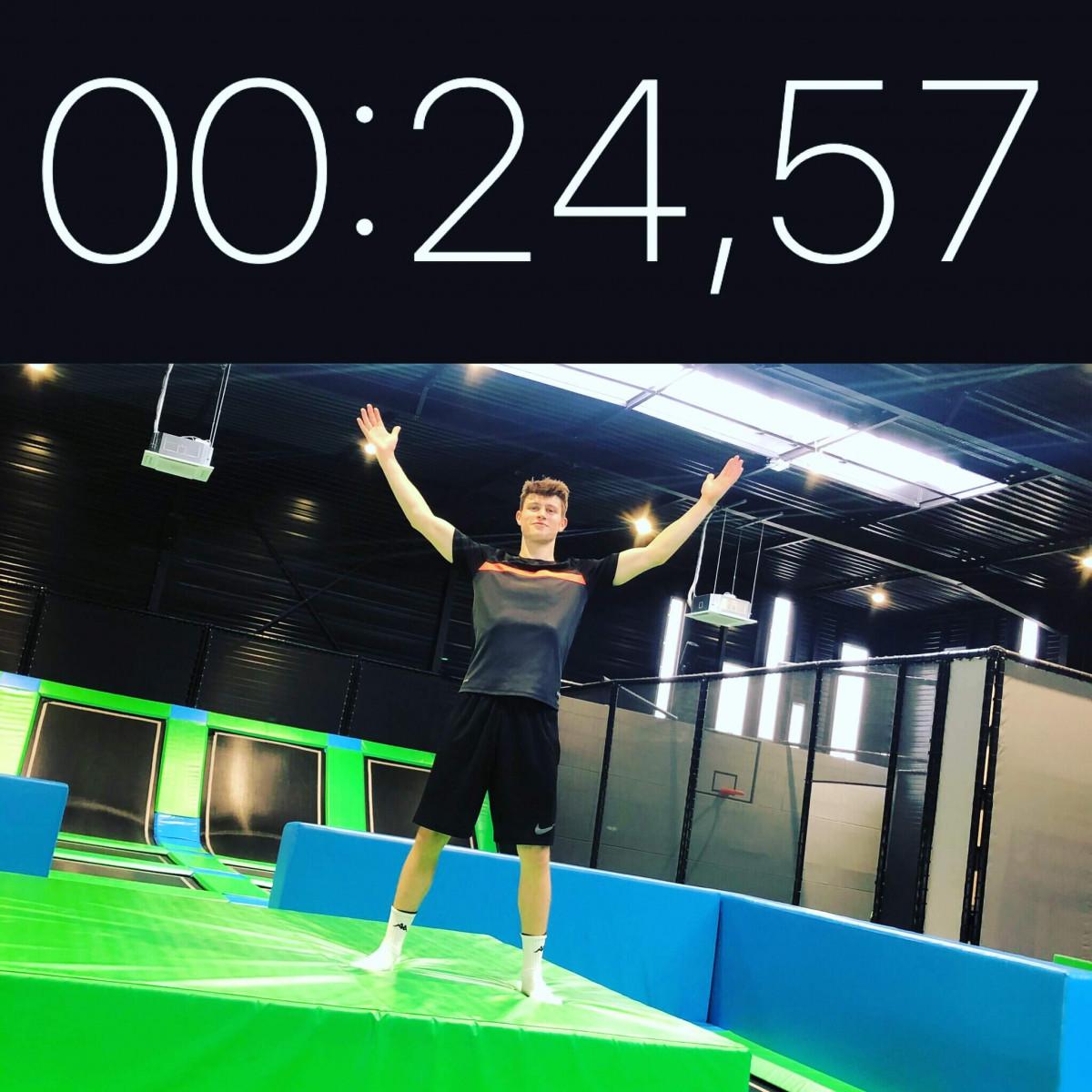 Détenteur du record Parcours Ninja